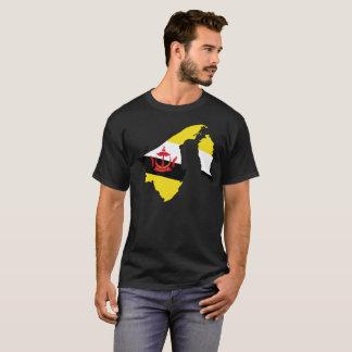 Camiseta T-shirt da nação de Brunei