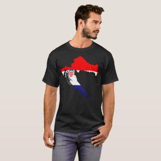 Camiseta T-shirt da nação de Croatia