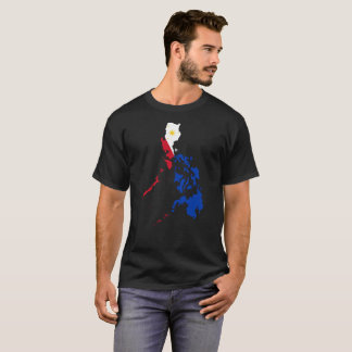 Camiseta T-shirt da nação de Filipinas