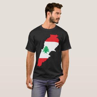 Camiseta T-shirt da nação de Líbano