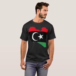 Camiseta T-shirt da nação de Líbia