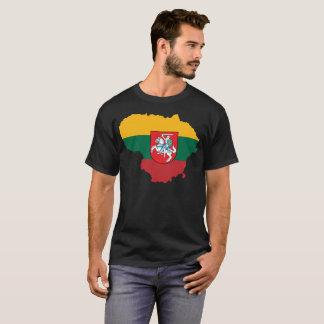 Camiseta T-shirt da nação de Lithuania