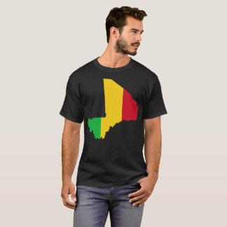 Camiseta T-shirt da nação de Mali