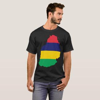 Camiseta T-shirt da nação de Maurícia