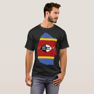 Camiseta T-shirt da nação de Suazilândia