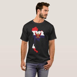 Camiseta T-shirt da nação de Tailândia