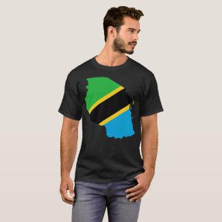 Camiseta T-shirt da nação de Tanzânia