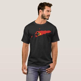 Camiseta T-shirt da nação de Timor-Leste