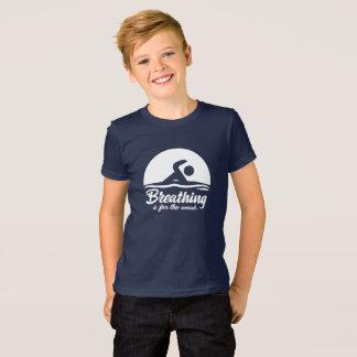 Camiseta T-shirt da natação para miúdos