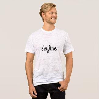 Camiseta T-shirt da neutralização dos homens da skyline