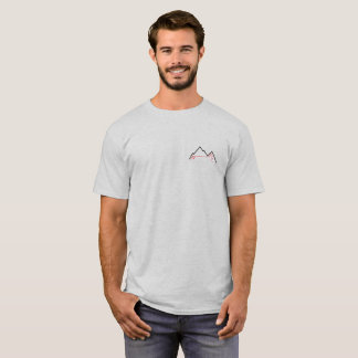 Camiseta T-shirt da neve do pó de Freeski da excursão do