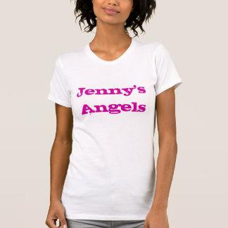 Camiseta T-shirt da noite do partido de galinha dos anjos -
