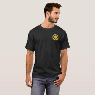 Camiseta T-shirt da obscuridade da polícia