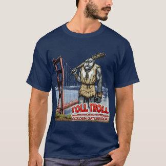 Camiseta T-shirt da obscuridade de golden gate bridge do