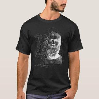 Camiseta T-shirt da obscuridade de Plato