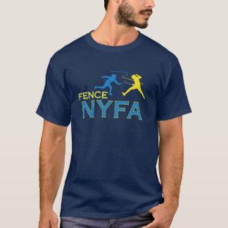 Camiseta T-shirt da obscuridade dos homens da cerca NYFA