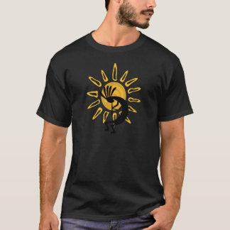 Camiseta T-shirt da obscuridade dos homens do ouro de