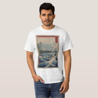 Camiseta T-shirt da onda de Suruga Satta