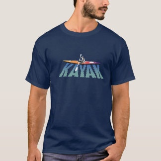 Camiseta T-shirt da ondinha do caiaque