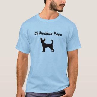 Camiseta T-shirt da papá da chihuahua