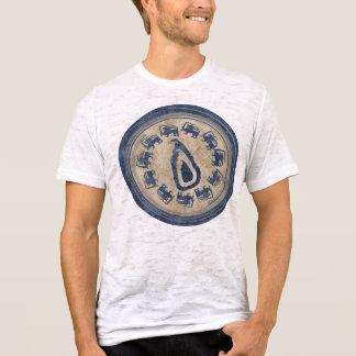 Camiseta T-shirt da parada do leão de Sri Lanka