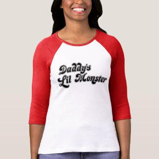 Camiseta T-shirt da paródia do monstro do Lil do pai