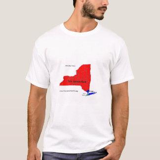 Camiseta T-shirt da partilha NYS dos homens