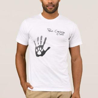 """Camiseta T-shirt da pata alta"""" do porteiro das patas """""""