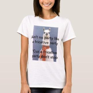 Camiseta T-shirt da patologia de discurso - piada do