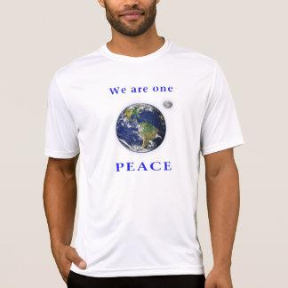 Camiseta T-shirt da paz de mundo