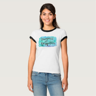 Camiseta T-shirt da perfeição do progresso não