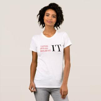 Camiseta T-shirt da perspectiva