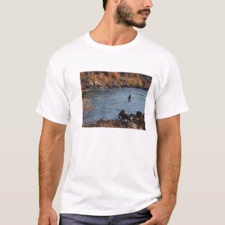 Camiseta T-shirt da pesca com mosca