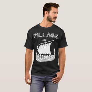 Camiseta T-shirt da pilhagem de Viking Longship