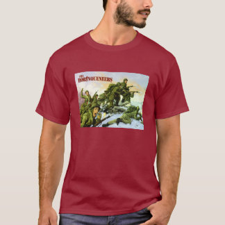 Camiseta T-shirt da pintura de Borinqueneers