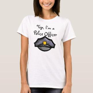 Camiseta T-shirt da policial