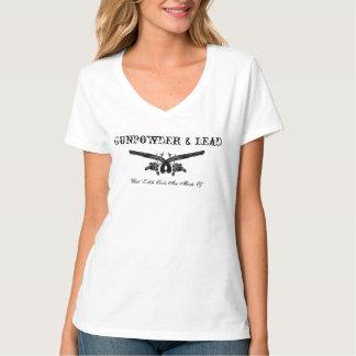 Camiseta T-shirt da pólvora e da ligação