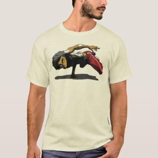 Camiseta T-shirt da pose 4 de BBOY