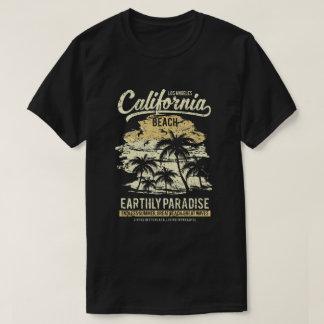 Camiseta T-shirt da praia de Califórnia