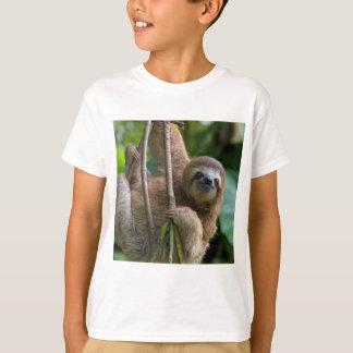 Camiseta T-shirt da preguiça para sua criança