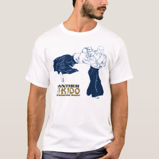 Camiseta T-shirt da queda 2011 do Aikido da pantera