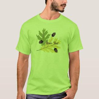 Camiseta T-shirt da queda das folhas e das bolotas do