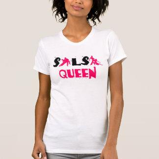 Camiseta T-shirt da RAINHA da SALSA - para amantes da dança