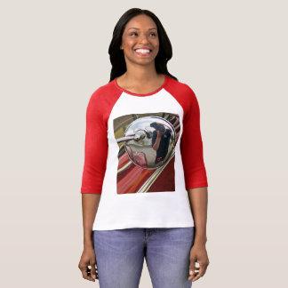 Camiseta T-shirt da reflexão das mulheres