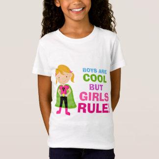 Camiseta T-shirt da regra das meninas