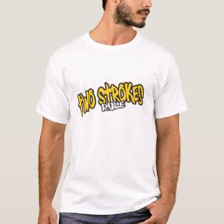 Camiseta T-shirt da regra de dois cursos