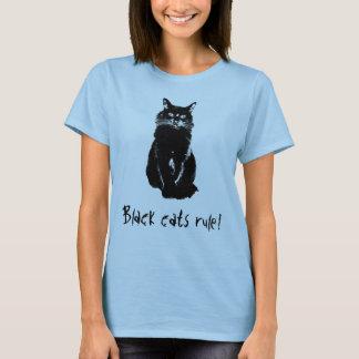 Camiseta T-shirt da regra dos gatos pretos