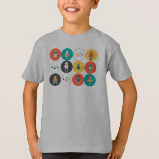 Camiseta T-shirt da regra dos robôs