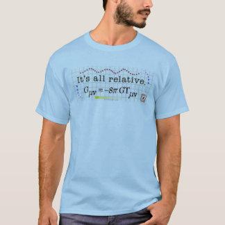 Camiseta T-shirt da relatividade