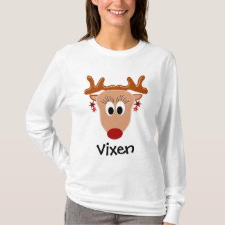 Camiseta T-shirt da rena do Vixen